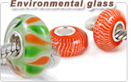 environmental European glass beads