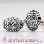 925 Sterling Silver charm Beads fit European Beads