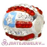 925 Sterling Silver Beads With Austrian Crystal