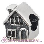 Wholesale European Sterling Silver House Charms Bead