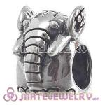 Wholesale European Sterling Silver Elephant Charms Bead