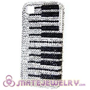 Cute Crystal Piano Key Cover Cases For iPhone 4 iPhone 4S