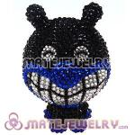 Cute 3D Bling Crystal Baikinman Absorbable Doll For iPhone Cases