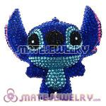 Cute 3D Bling Crystal Stitch Absorbable Doll For iPhone Cases