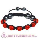 Wholesale Bargain Price Handmade Pave Orange Crystal TresorBeads Bracelets