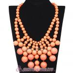 2012 New Fashion Cascade Bauble Bib Necklace Wholesale