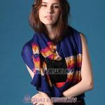 2012 New Arrival Rural Pastoral British Style Hollow Stripes Scarves