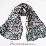 Cheap European Office Lady Mulberry Silk Scarves Pashmina Shawls Wrap Wholesale