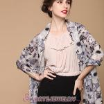 Urban Retro Flower Pattern Scarf Cashmere Wool Scarves Pashmina Shawl