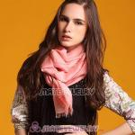 Fashion Office Lady Silk Scarves Pashmina Wool Scarf Shawls Wrap