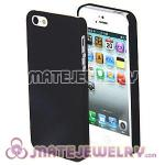 Ultra Slim Black Frosted Hard Cover Cases For iPhone5 Gen 5th 5G