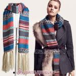 Wholesale Mori Girl Bohemia Style Extra Long Pashmina Shawl Scarves Wrap Stole