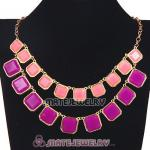 2012 New Fashion Candy Resin Bubble Bib Necklace Wholesale