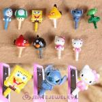 Wholesale Mix Cute Cartoon Characters Earphone Jack Plug
