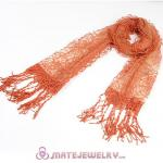 Office Lady Fashion Scarves Openwork Lace Pashmina Scarf Shawls Wholesale