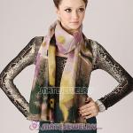 Cashmere Wool Designer Scarf Wrap Silk Pashmina Shawls For Women