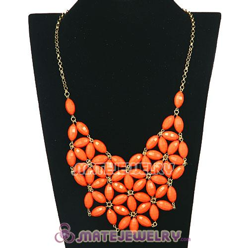 2012 New Fashion J Bubble Crew Bib Statement Necklace