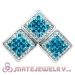 Wholesale Handmade CCB Pave Crystal Beads For Bracelet