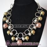 Beaded Bubble Bib Costume Jewelry Necklace Wholesale