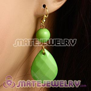 Fashion Hoop Olivine Bubble Earrings Wholesale