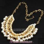 Luxury Imitation Pearl Bubble Necklace Wholesale
