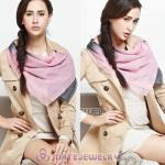 Mulberry Silk Scarves Digital Painting Pink Fade Pashmina Shawls Wholesale