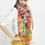 Urban Retro Wool Colorful Pashmina Shawl Scarves
