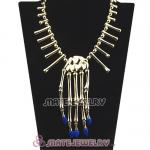 Fashion Gold Plated Bone Necklaces Wholesale