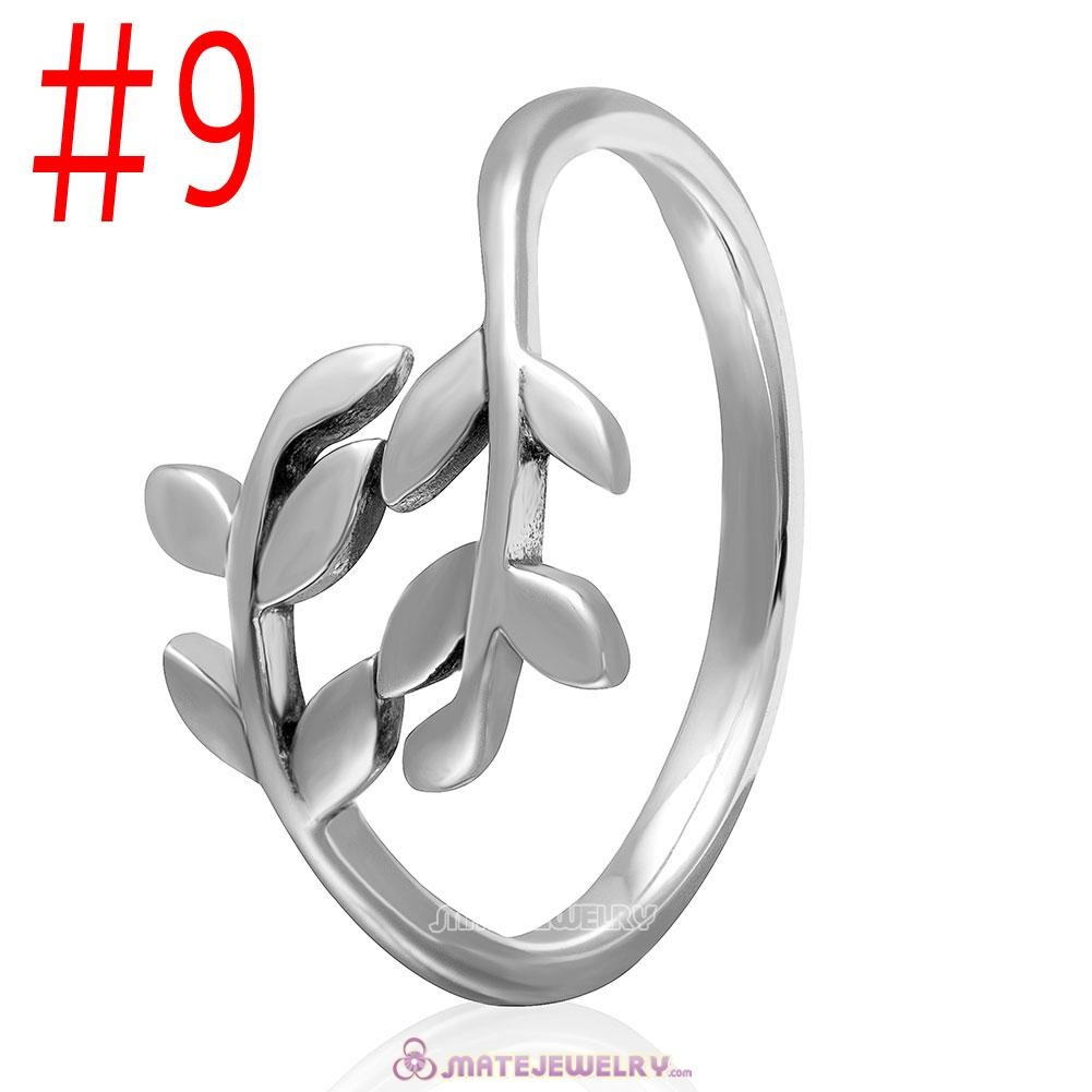 925 Sterling Silver Spring Leave Ring Wholesale