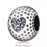 Tanzanite Crystal Golf Ball Charm Beads